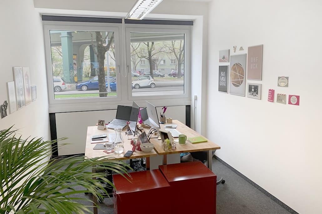 Büro bei mein arbeitstraum